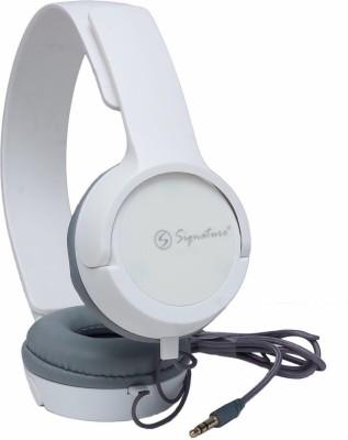 Signature VM 61 Headphone(White, Over the Ear) 1