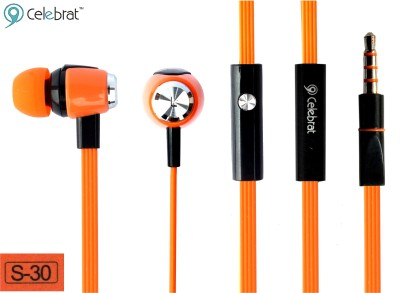 CELEBRAT S30 Headphone(Orange, In the Ear) 1
