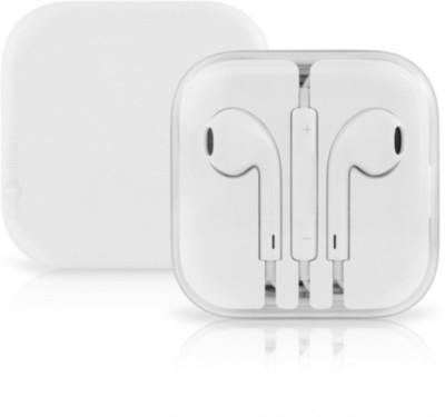 Digitalmart Top Selling 3.5MM Earpods Handsfree Wired Headset With Mic Headphone(White, In the Ear)
