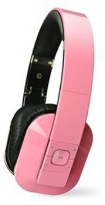 Microlab T1 Headphone(Pink, Over the Ear)