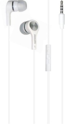 Philips SHE2300 White Stereo Dynamic Headphone Wired Headphones