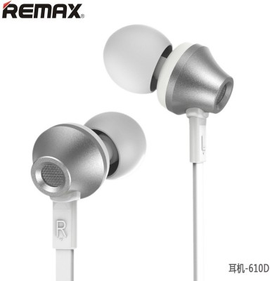 Remax SD - 610D Headphone(Silver, In the Ear) 1