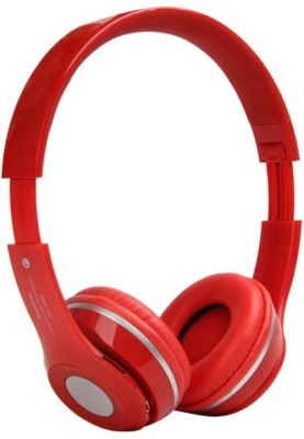 24c8a250fd9 MSE Red Plus Bluetooth High Bass Stereo Headphone_H2 Wired & Wireless  bluetooth Headphones(Red,