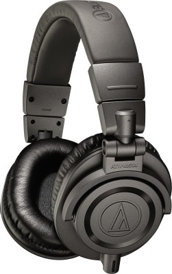 Audio Technica ATH-M50x MG Limited Edition Headphone(Matte Grey, Over the Ear) 1