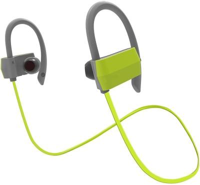 HiTechCart DACOM Sports IPX4 Waterproof Earphone Headphone(Green, In the Ear) 1