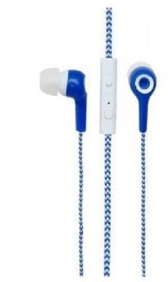 Signature VM-49 Headphone(BLUE and white, In the Ear) 1