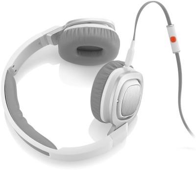 IT J55I Headphone(White, Over the Ear)