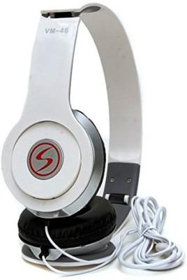 Signature vm46 Solo Hd Headphone(White, Over the Ear) 1