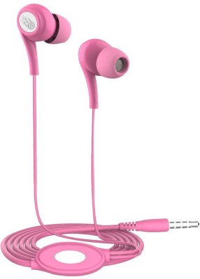 Trost Sparkey Universal Metal Super Bass Headphone(Pink, In the Ear)