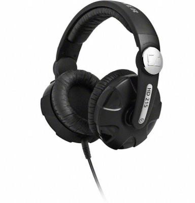 Sennheiser HD 215 II Headphone(Black, Over the Ear)