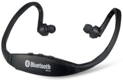 OBS Bluetooth Stereo/MP3 Headset (Black) Stereo Headphone With MIC Wired & Wireless Bluetooth Headphones Headphone(Black, Over the Ear)