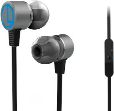 Portronics POR 614 Conch 202 Earphone Wired Headset With Mic Headphone(Black, In the Ear)  available at flipkart for Rs.599