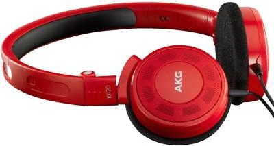 Harman AKG K420 Headphone(Red, Over the Ear) 1
