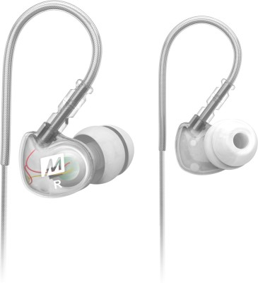 MEE Audio M6-CL Headphone(Clear, In the Ear) 1