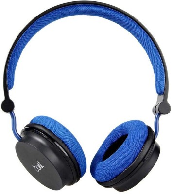 boAt Rockerz 400 Wireless Bluetooth Headphone (Blue & Black)