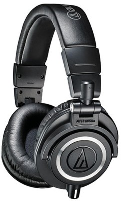 AudioTechnica-ATH-M50-Headphones