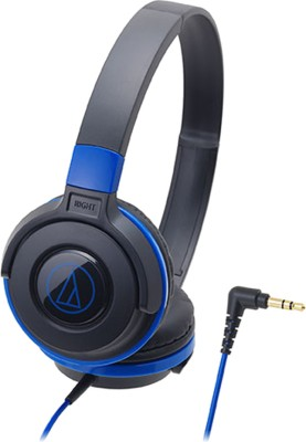 Audio Technica ATH-S100 Wired Headphone(Black & Blue, On the Ear)