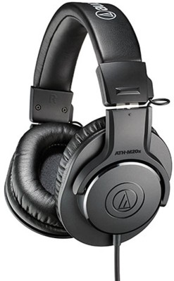 Audio Technica ATH-M20x Closed-back Dynamic Wired Headphones