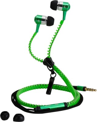 Fellkon Creo Mobile Phones Headphone(Green, In the Ear) 1