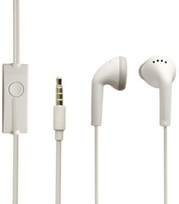 Jiyanshi Spice Mobile Phones Wired Headphones White, In the Ear  available at Flipkart for Rs.399