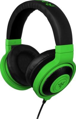 Razer Kraken Neon - Essential Music - FRML Headphone(Green, Over the Ear)