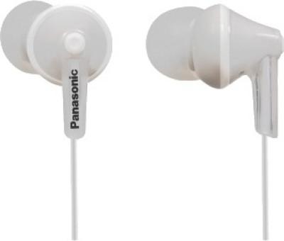 Panasonic RP-HJE125E-W Headphone(White, In the Ear)