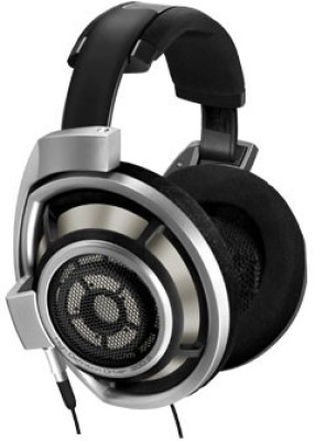 Sennheiser HD 800 Bluetooth Headset without Mic(Silver, On the Ear)