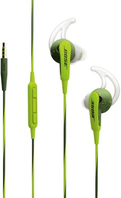 Bose SoundSport In Ear for Apple Devices Headset with Mic(Green, In the Ear)  available at flipkart for Rs.10013