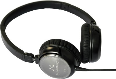 SoundMagic P30 Wired Headphones(Black, On the Ear)