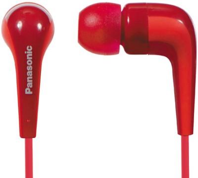 Panasonic RP-HJE140 Headphone(Red, In the Ear) 1