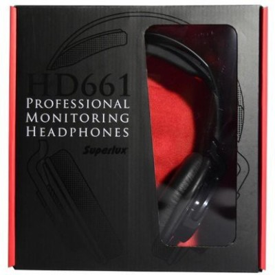 Superlux HD661 Headphone (Black)