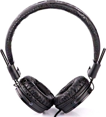 Unix Artzy UX -03 Unix Artzy UX -03 Perfection Tone Quality Headset Wired Headset with Mic(Black, Over the Ear) 1