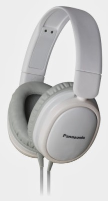 Panasonic RP-HX250E Headphone(White, Over the Ear) 1