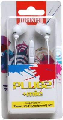 Maxell-Plugz-Mic-In-Ear-Headset