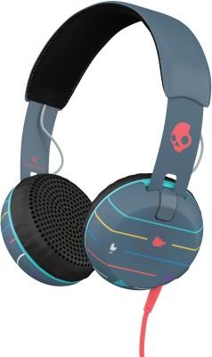 Skullcandy Grind Headphones(Navy Blue, On the Ear)