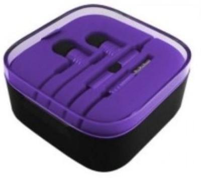 Ubon Big Daddy Bass Micromax Unite Bass Wired Headset with Mic(Purple, In the Ear) Flipkart