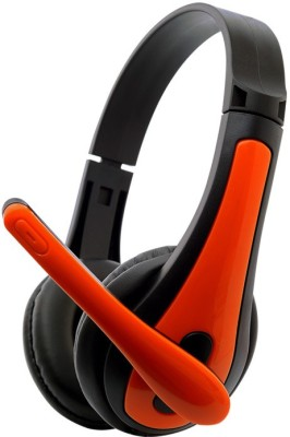 Zebronics Colt 3 Wired Headset with Mic(Orange, Over the Ear) 1