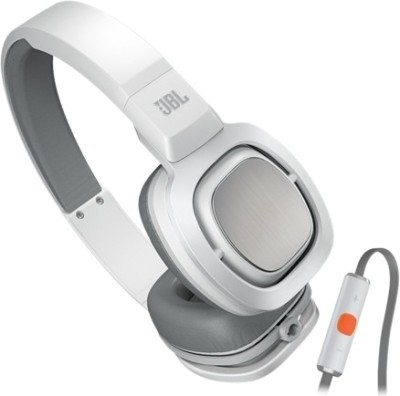 JBL J55i Wired Headset with Mic(White, On the Ear) 1