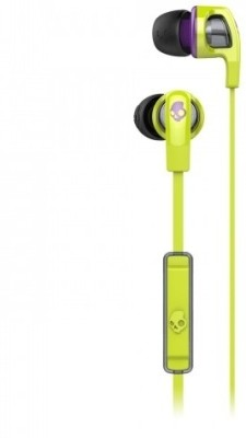 Skullcandy S2PGFY-319 Smokin' Buds 2 with Mic1 Stereo Headset with Mic(Black, In the Ear) 1