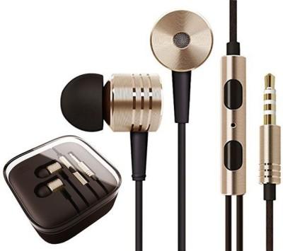 Ubon Big Daddy Bass Ultra Marathon Enhanced Bass Stero Dynamic Wired Headset with Mic(Golden, In the Ear) Flipkart