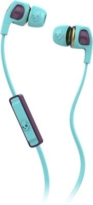 Skullcandy S2PGGY-397 Headset with Mic(Black, In the Ear) 1