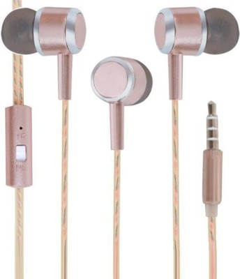 SPN Perfume CX2 Universal Wired Headset with Mic(Gold, In the Ear) 1