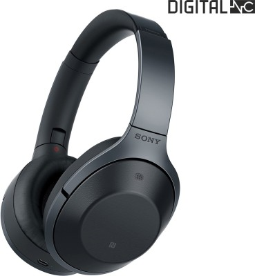 Sony MDR-1000X Digital Noise Cancellation with Hi-Res Audio Wireless Bluetooth Headset With Mic