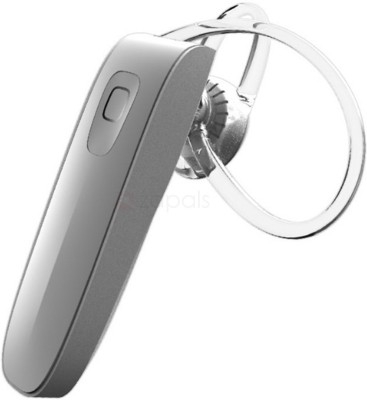 A Connect Z Genai B1 Bluetooth Headst -119 Bluetooth Headset with Mic(White, In the Ear) 1