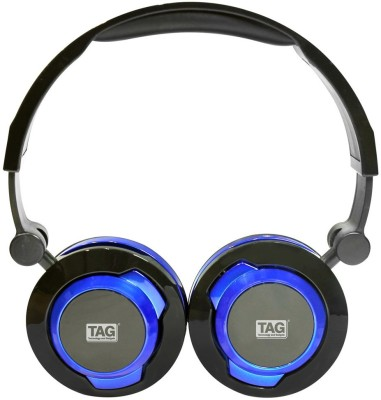 TAG MPC-600 Wired Headset with Mic(Blue, On the Ear) 1