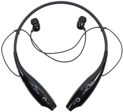 Zeel Enterprise HBS 730 Bluetooth Headset(Black, In the Ear)