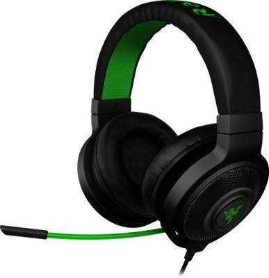 Razer Kraken Pro Wired Headset with Mic(Black, Over the Ear)  available at flipkart for Rs.6776
