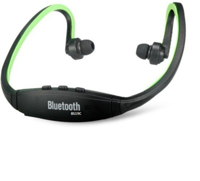 Like Star 65 Bluetooth Headset with Mic(Green, In the Ear) 1