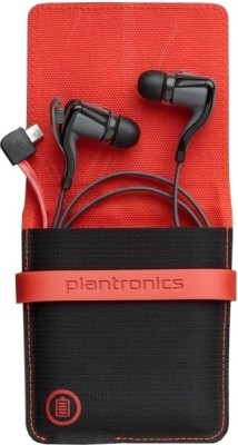 Plantronics BBTGO2-BLK Wireless Earbuds BackBeat Go 2 Stereo Bluetooth Headset with Charging Case