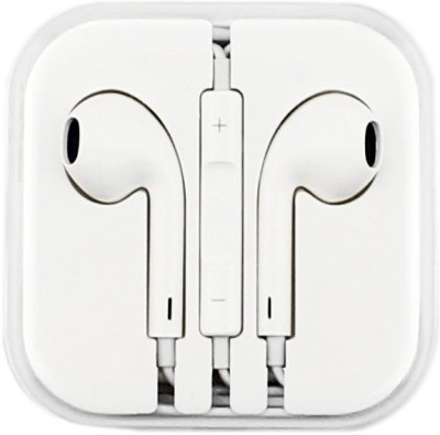 Classic Shopping Csapp-0003 Wired Headset with Mic(White, In the Ear) 1